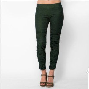 Prairie Underground Glove Ruched Leggings Green XS